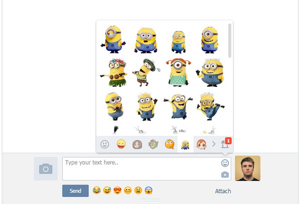 Screenshot for VK Emoji | Smileys