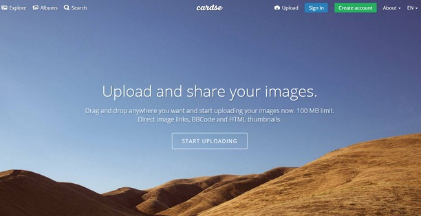 Bildschirmfoto für Cardse - Make Screenshots and Upload Images