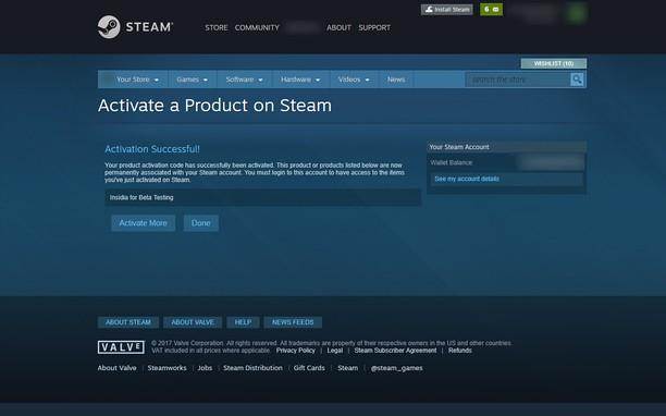 activation key steam website