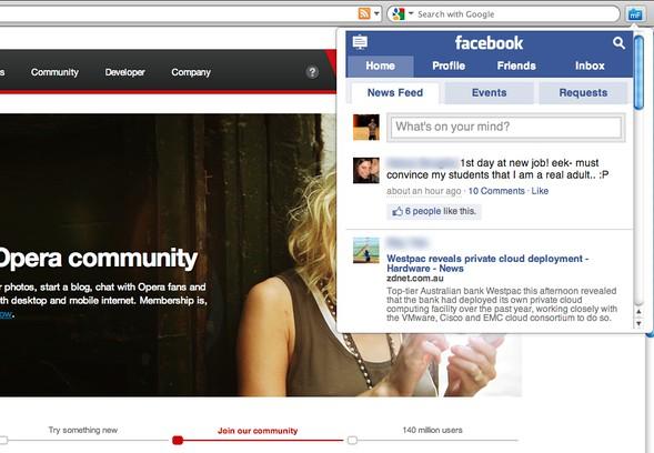 Screenshot for miniFeed