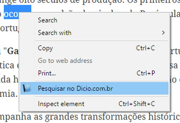 Screenshot for Pesquisar no Dicio.com.br