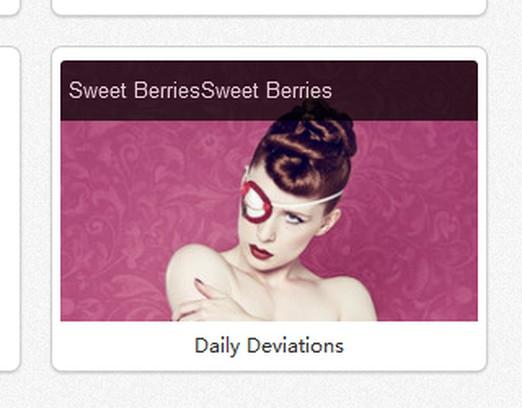 Skärmbilder för deviantART Daily Deviations