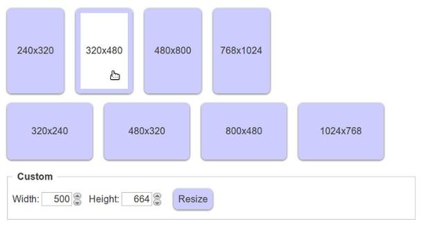 Screenshot for Resize Me