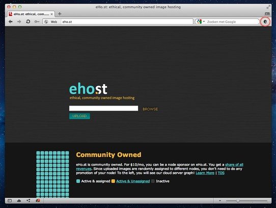 Screenshot for eHo.st