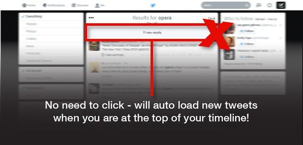 Snímka balíka Auto load Tweets