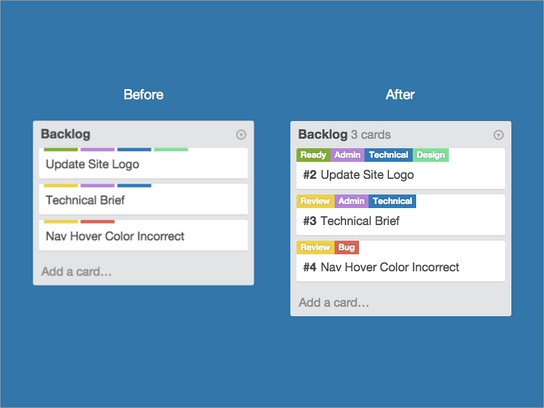 Captura de pantalla para Chuck Enhancements for Trello