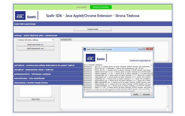 Screenshot for Podpis elektroniczny Szafir SDK