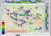 صورة مصغرة للقطة الشاشة Český Hydrometeorologický Ústav - Rozložení srážek