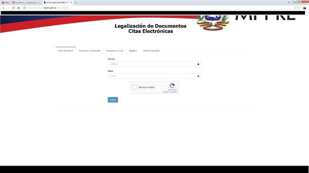 Copie d'écran pour Ayudante de Tramites