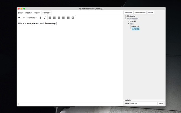 Στιγμιότυπο Notepad