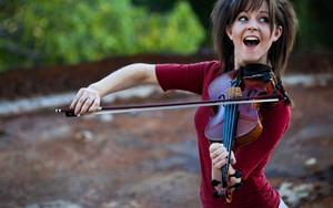 Smiling Violinist ikonja