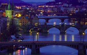 Значок для Prague Bridges