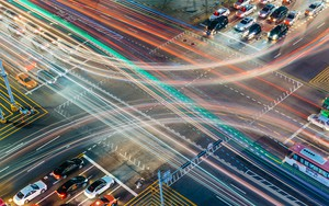 Icono de Colorful traffic at Seoul