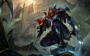 Symbol für League of Legends - Zed, the Master of Shadows