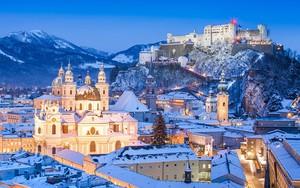 Snowy Salzburg的图标