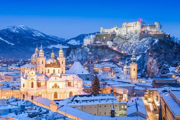 Снимок экрана для Snowy Salzburg