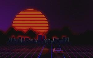Symbol für Retro Style 80s