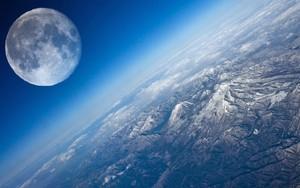 Значок для Earth and moon