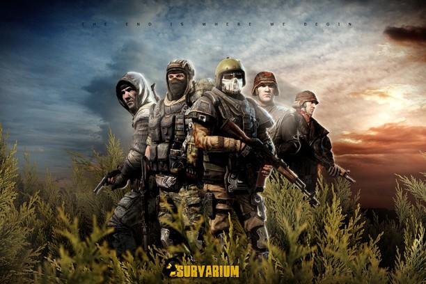 Здымак экрану для Survarium Theme - Five Warriors