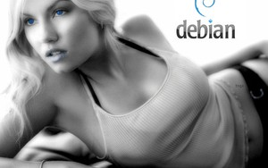 Іконка для Debian girl