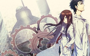 Піктограма Steins Gate -  Okabe and Kurisu