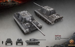 JagdTiger Tank的图标
