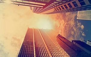 أيقونة Warm City Sky