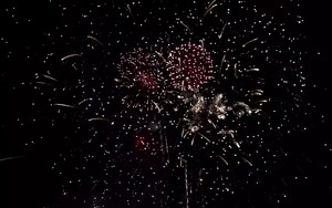 Ikona pakietu Fireworks Slow Motion