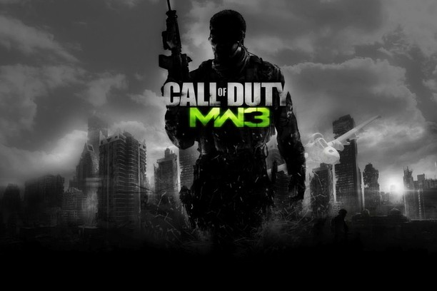 call of duty modern warfare logo wallpaper