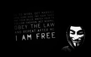 Значок для We Are Anonymous-1