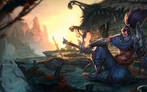 Symbol für League of Legends - Yasuo, The Unforgiven