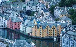 Значок для Architecture of Alesund