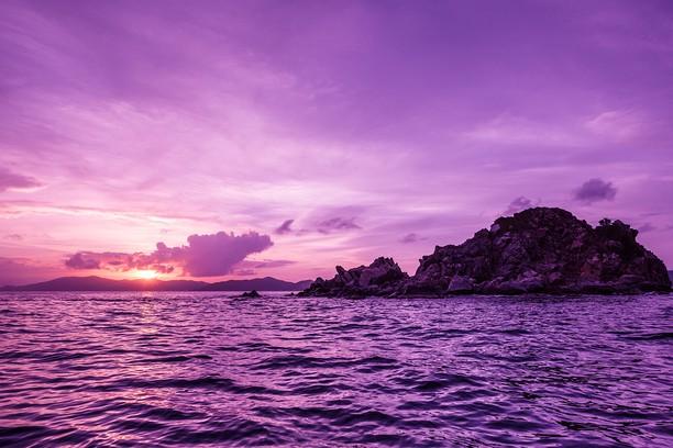 Zrzut ekranu pakietu Pelican Island Sunset