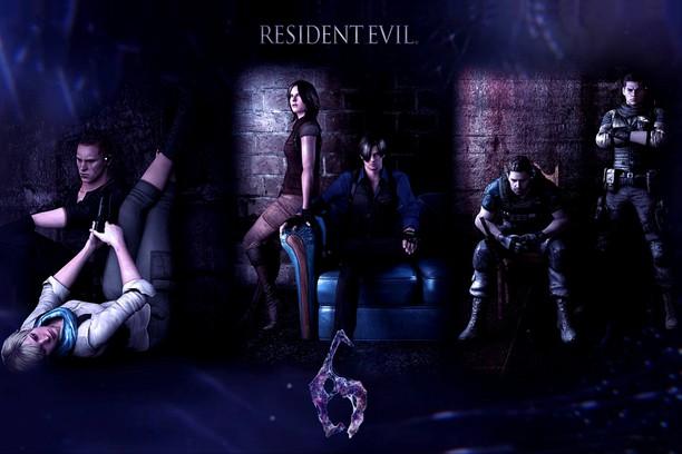 Zrzut ekranu pakietu Resident Evil 6 Jake Leon Chris