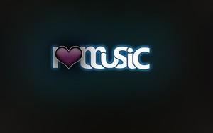 Значок для I Love Music