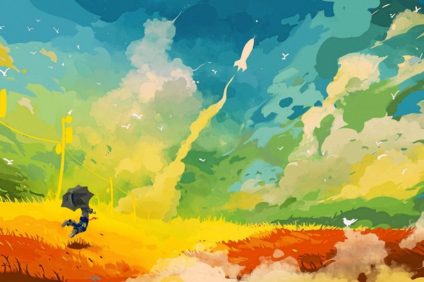 Снимок экрана для Multicolor Clouds