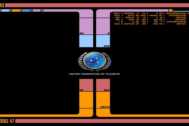Star Trek LCARS wallpaper - Opera add-ons