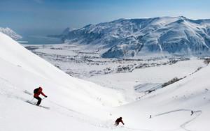 Εικονίδιο Горные лыжи / Downhill skiing
