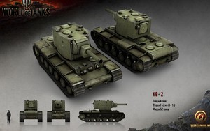 Kv-2 Tank的图标