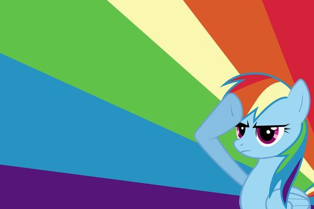 Wallpaper Mlp My Little Pony Rainbow Dash Add On Opera