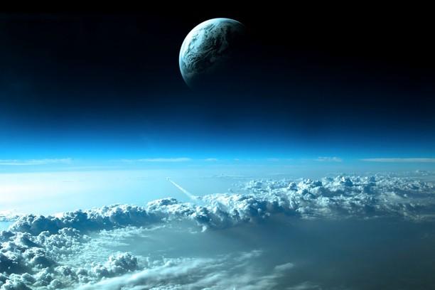 Blue Earth Blue Sky Wallpaper Opera Add Ons