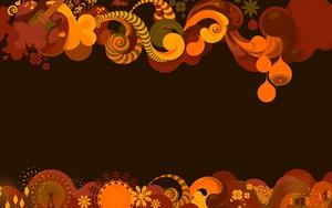 Ikona pakietu Abstraction Dark Orange