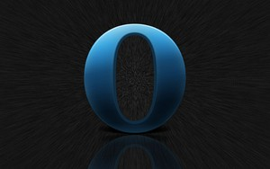 Icon for Opera blue