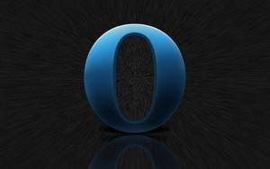 أيقونة Opera blue