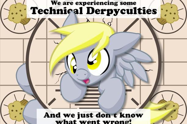 Technical Derpyculties Derpy Hooves Mlp Wallpaper