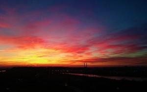 Значок для Urban evening sky
