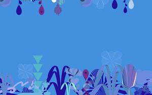 Symbol für Abstraction plants Blue
