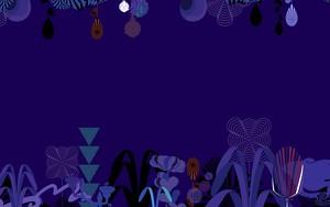 Symbol für Abstraction plants Dark Blue