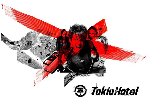 Здымак экрану для tokio hotel