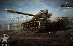 Значок для T110e5 Tank